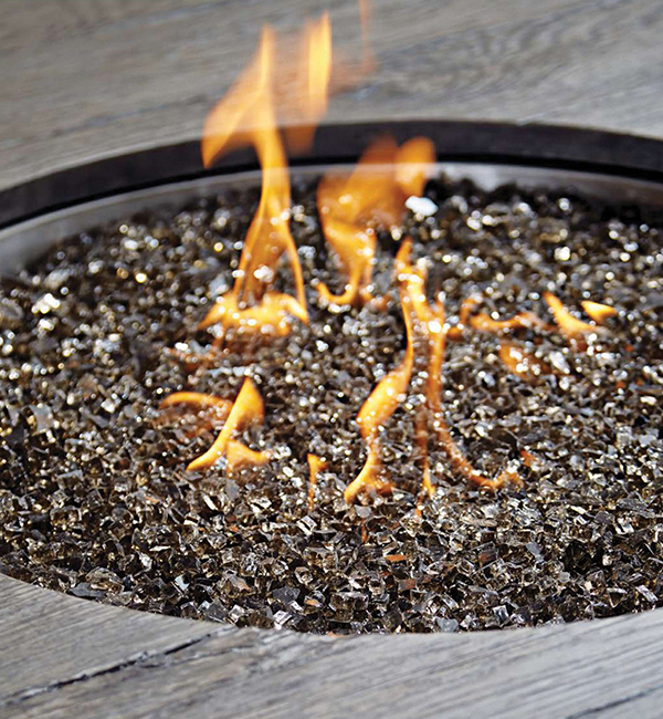 Fire Pit Close Up