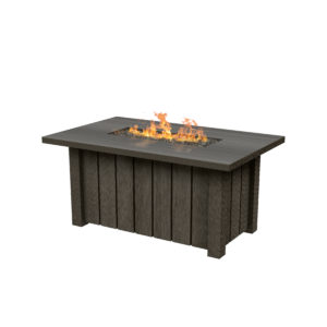 "Trento 50x32"" Rectangular Fire Pit"